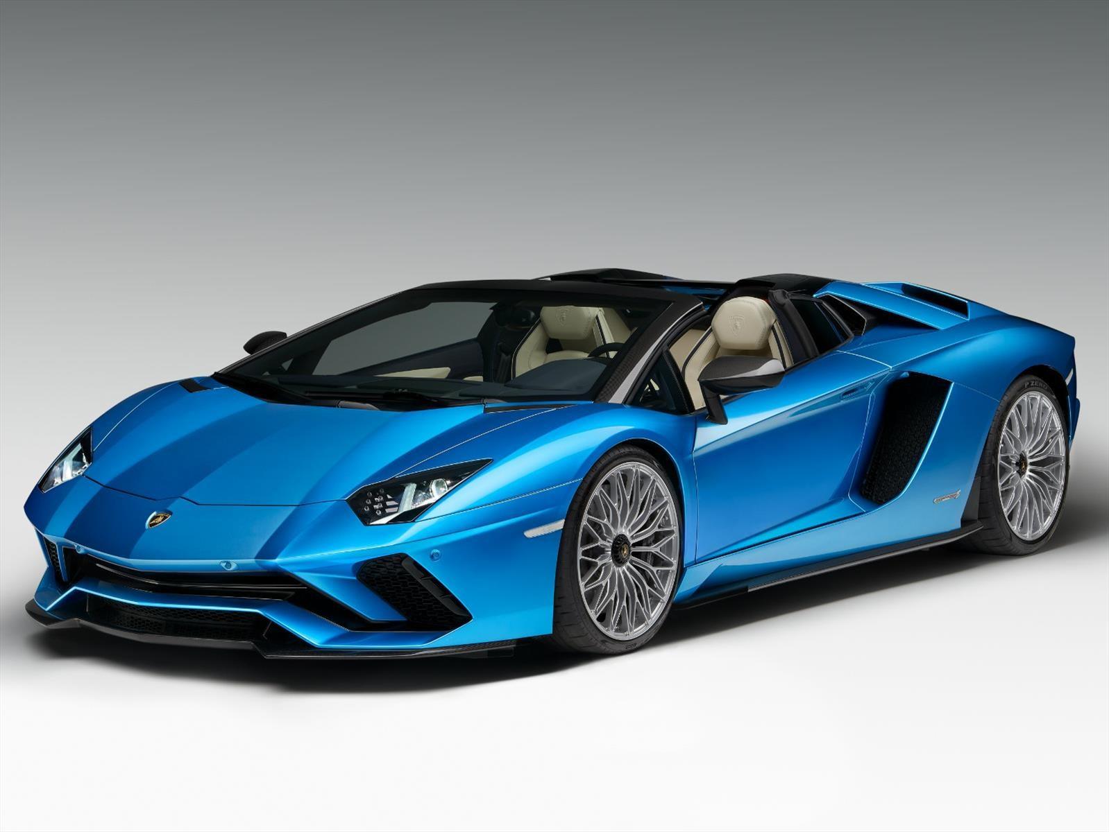Lamborghini Aventador S Roadster, diversión a cielo abierto