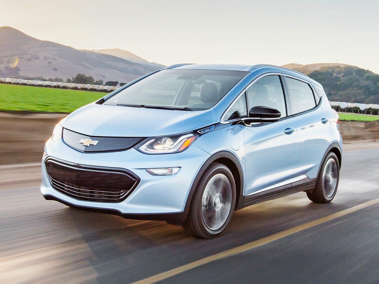 El Chevrolet Bolt EV tiene más autonomía que el Leaf