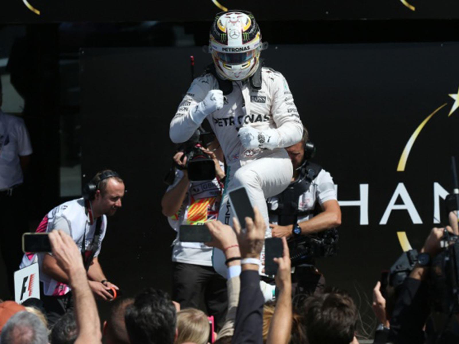 Hamilton recupera la punta en el GP de Hungría 2016
