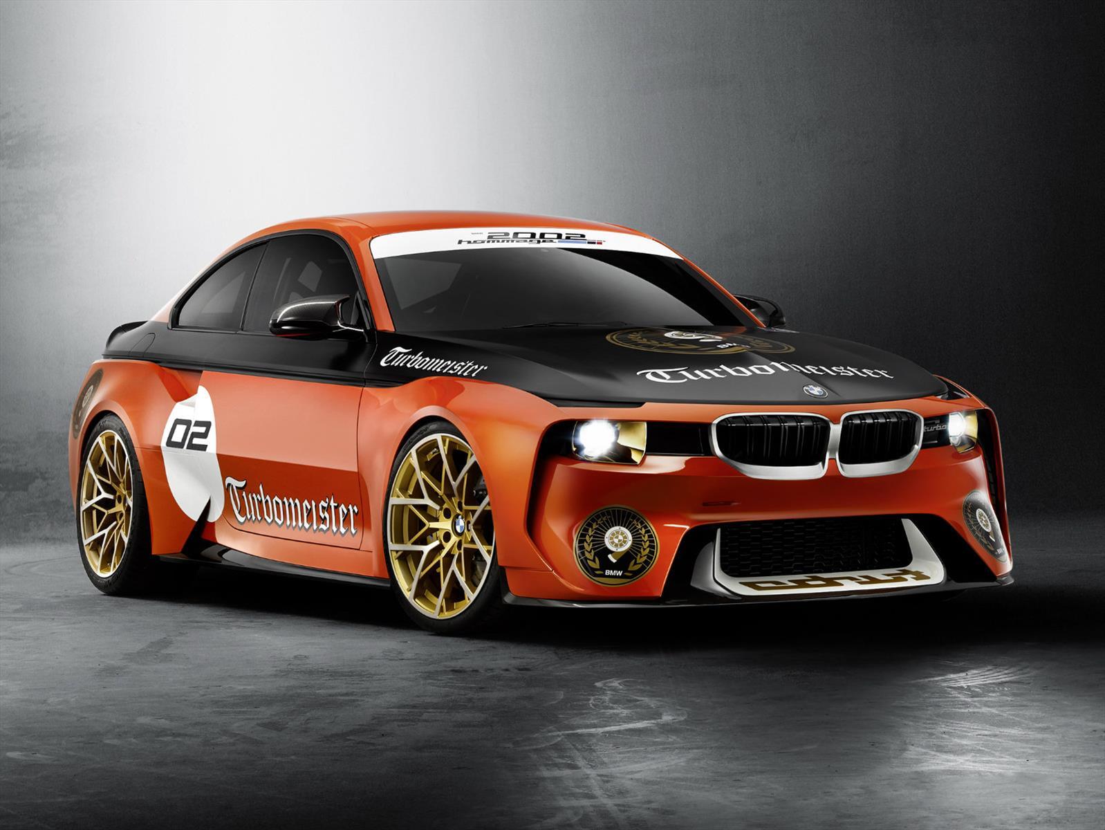 El BMW 2002 Hommage se pone radical en Pebble Beach 2016