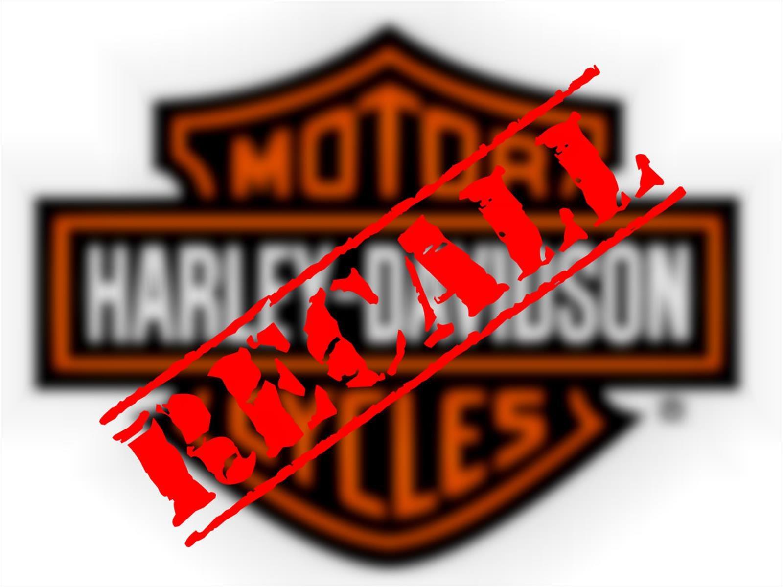 Harley-Davidson llama a revisión a 57,000 unidades