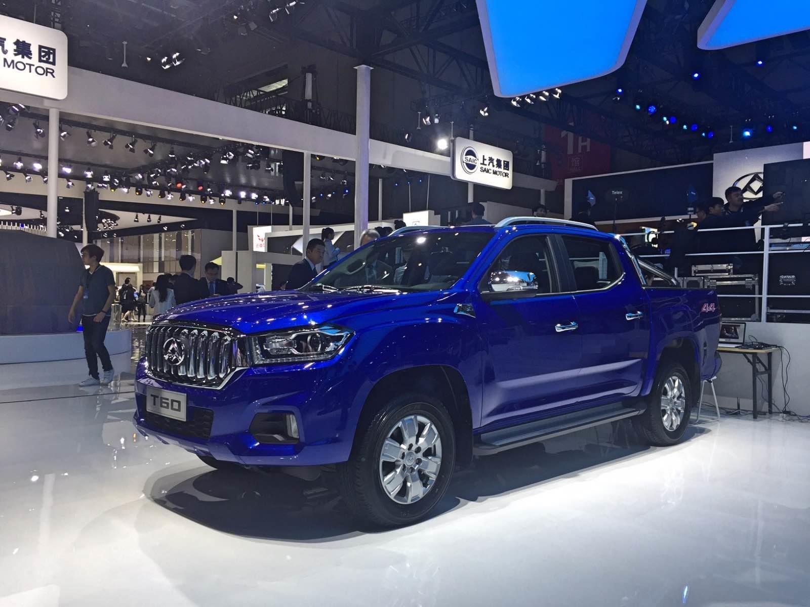 Maxus T60 2018, otra atractiva pick-up desde China