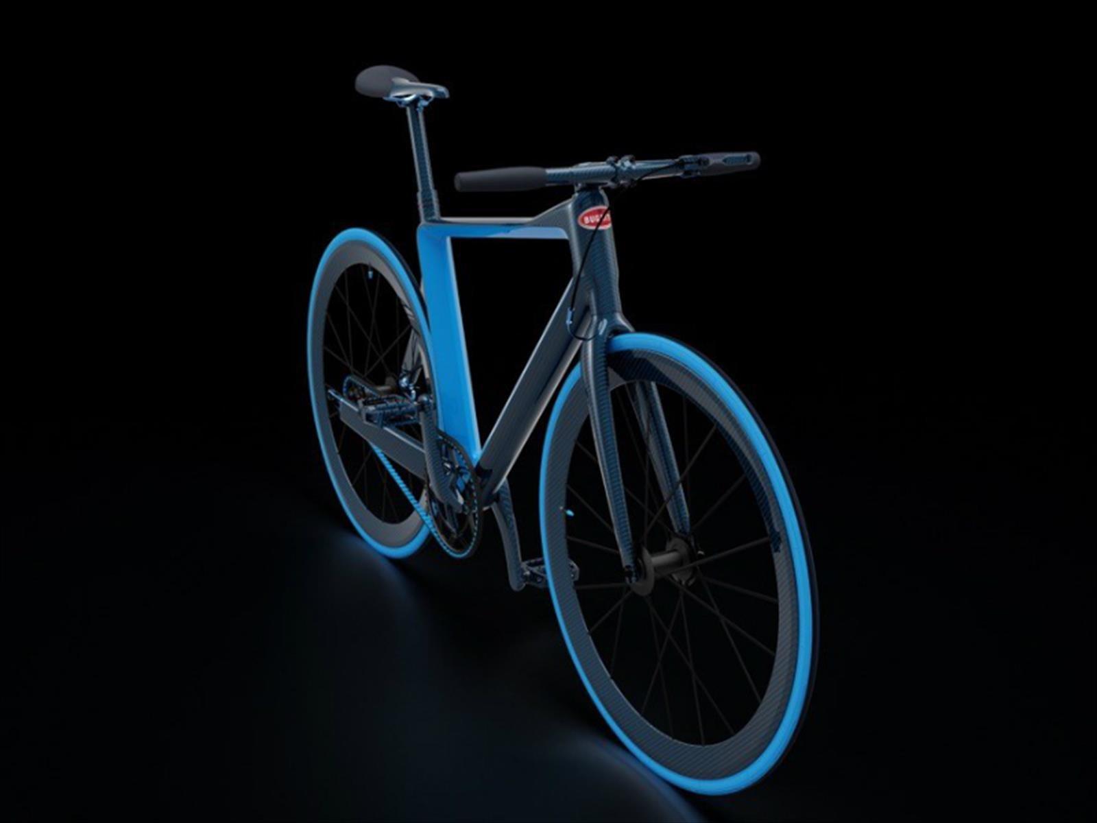 Bugatti presenta una exclusiva bicicleta