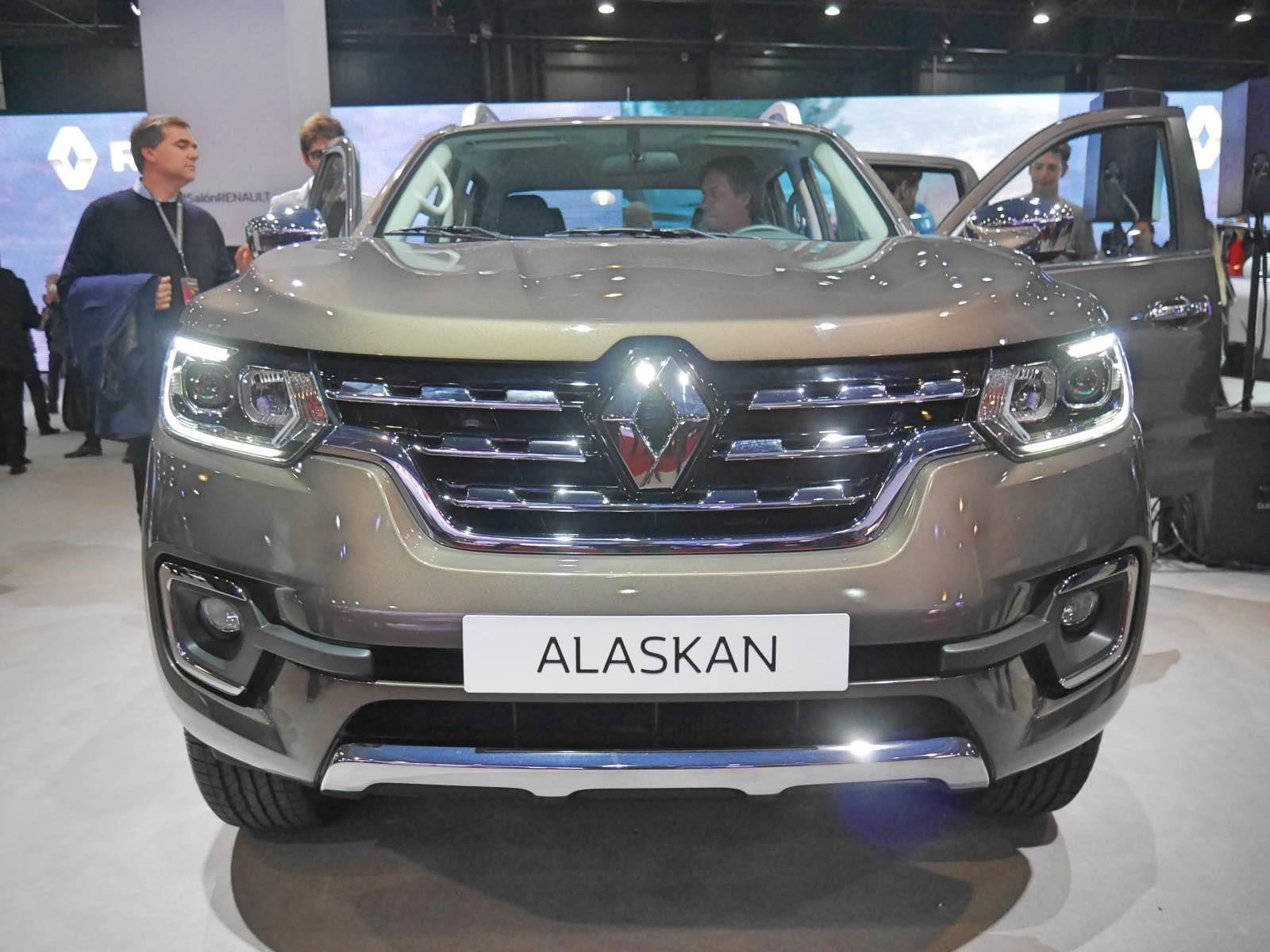 Novedades de Buenos Aires: Renault Alaskan