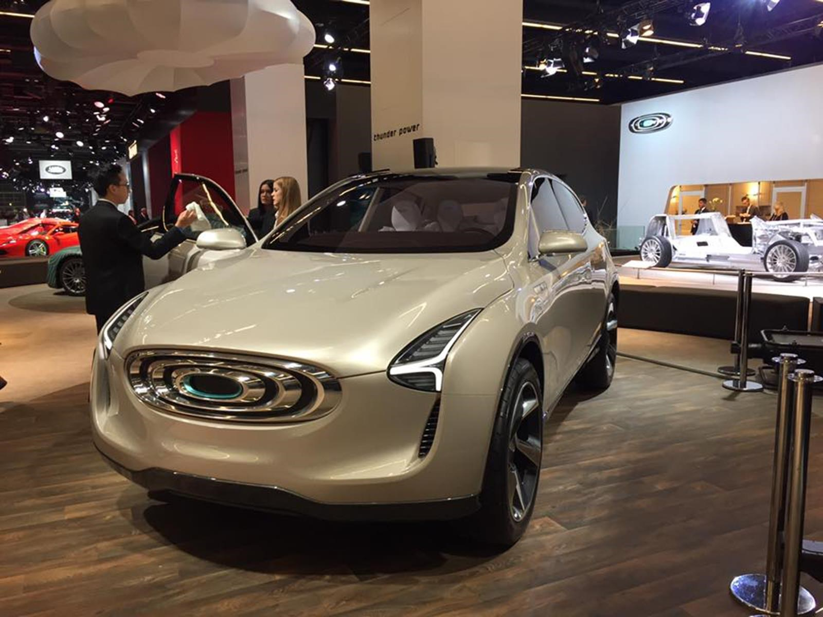 Thunder Power Future Vision Concept, el SUV made in Taiwan