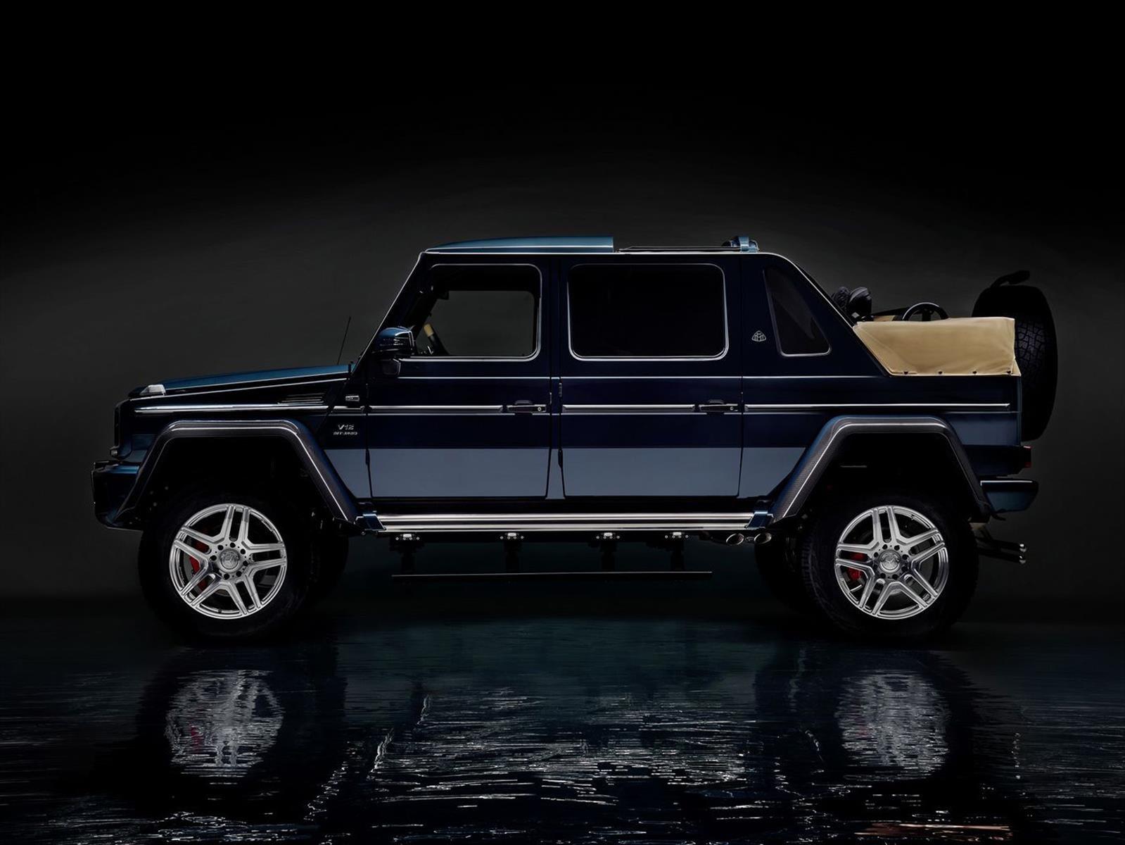 Mercedes-Benz Maybach G650 Landaulet, para hacer off road con exuberancia