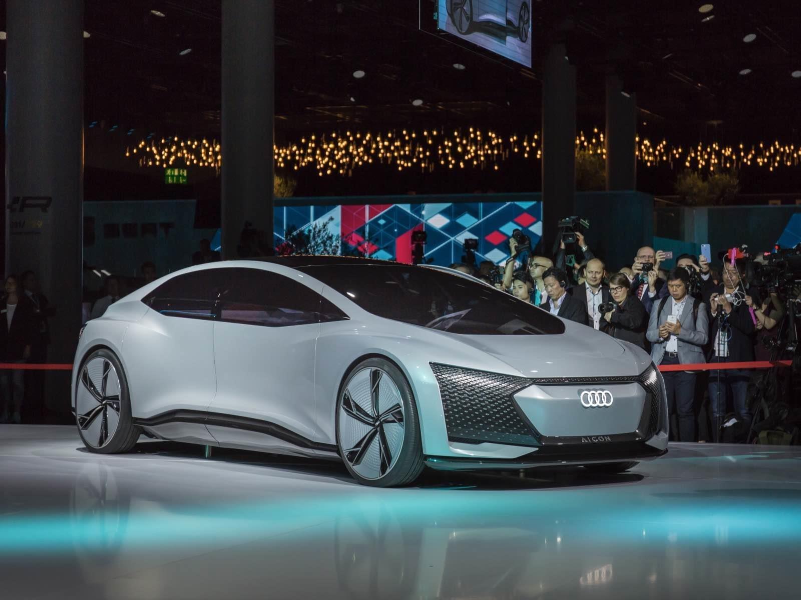 Audi Aicon Concept se presenta