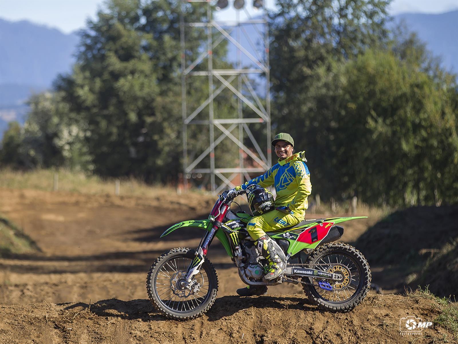 Diego Rojas se suma a la escudería Kawasaki CIDEF para el 2017
