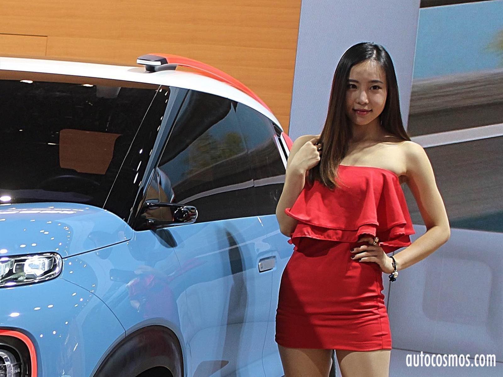 Las chicas del Salón de Shanghai 2017