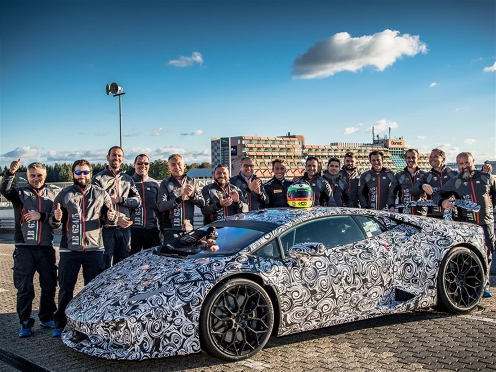 Video: El Lamborghini Huracan Performante se corona en Alemania