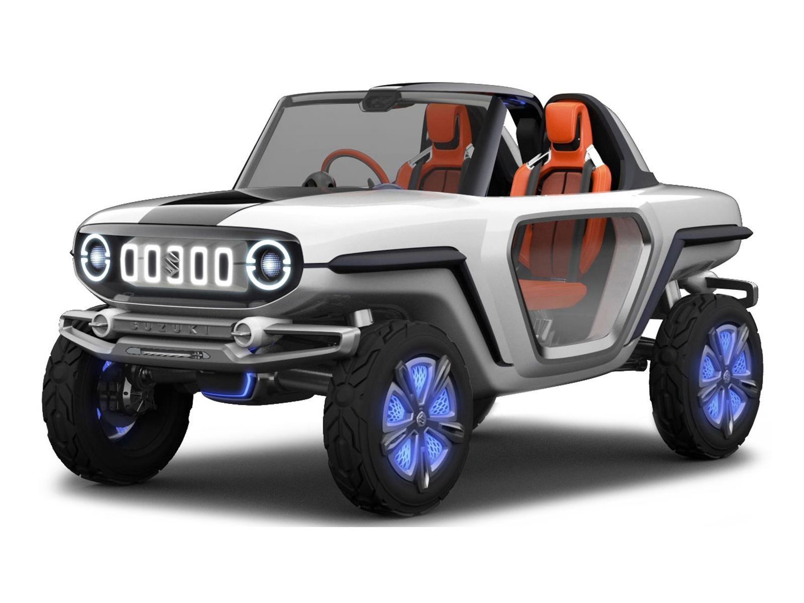 Suzuki e-Survivor Concept, pequeño todo terreno que llega a Japón