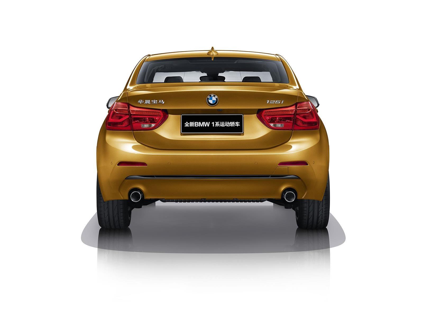 BMW Serie 1 Sedán, un compacto de tracción delantera llegaría a México