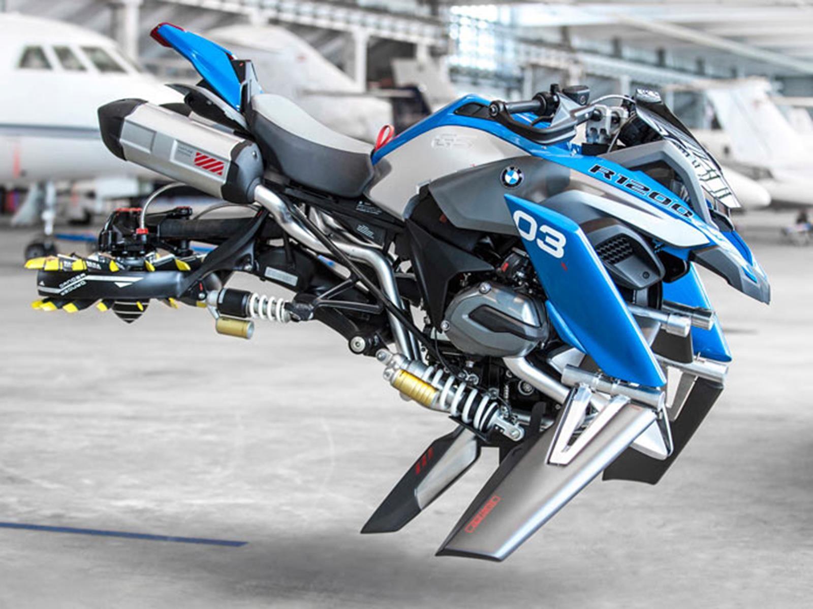 BMW Hover Ride Design Concept, una moto basada en LEGO