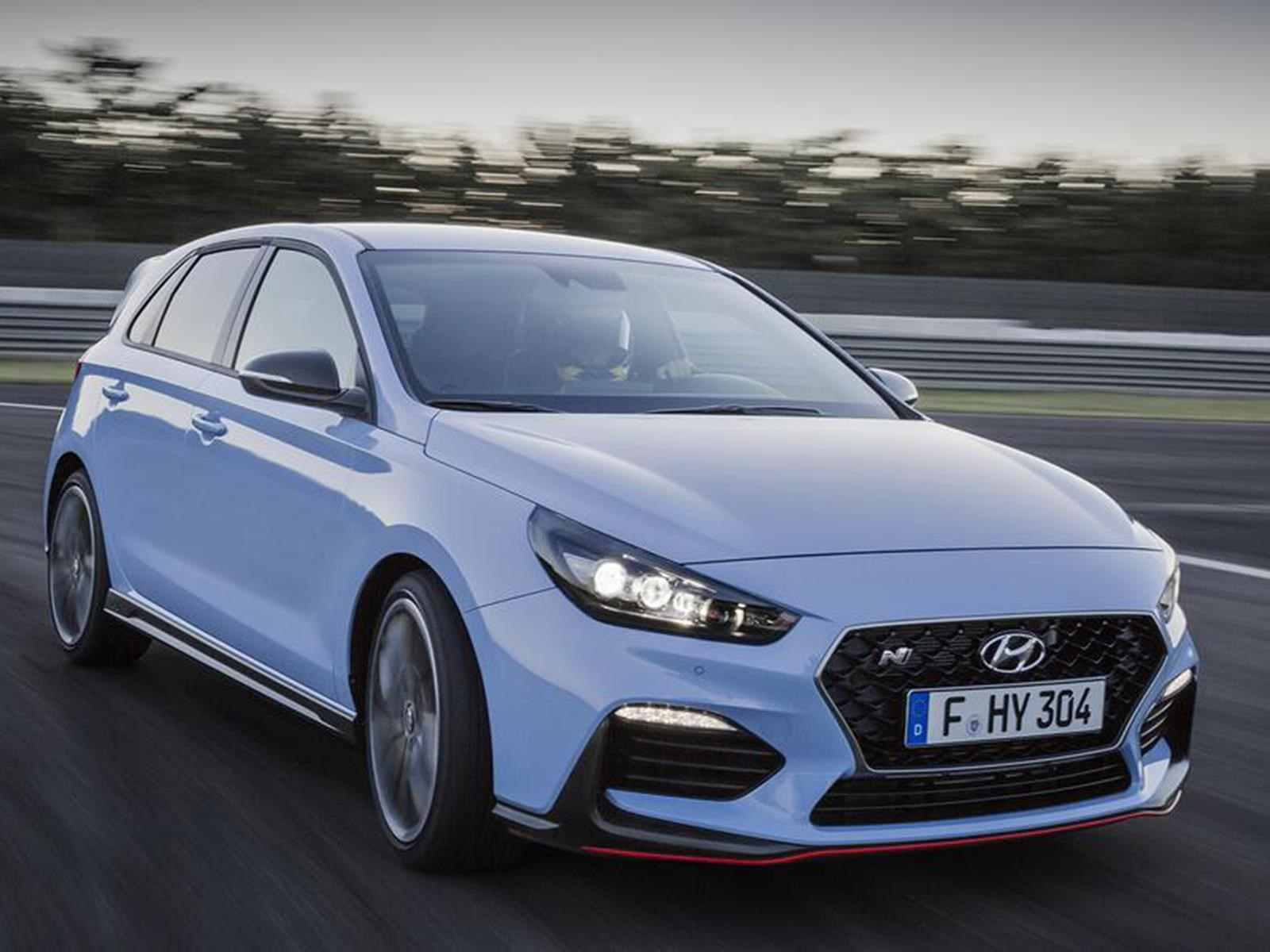 Hyundai i30 N, el hot hatch ideal para Nürburgring