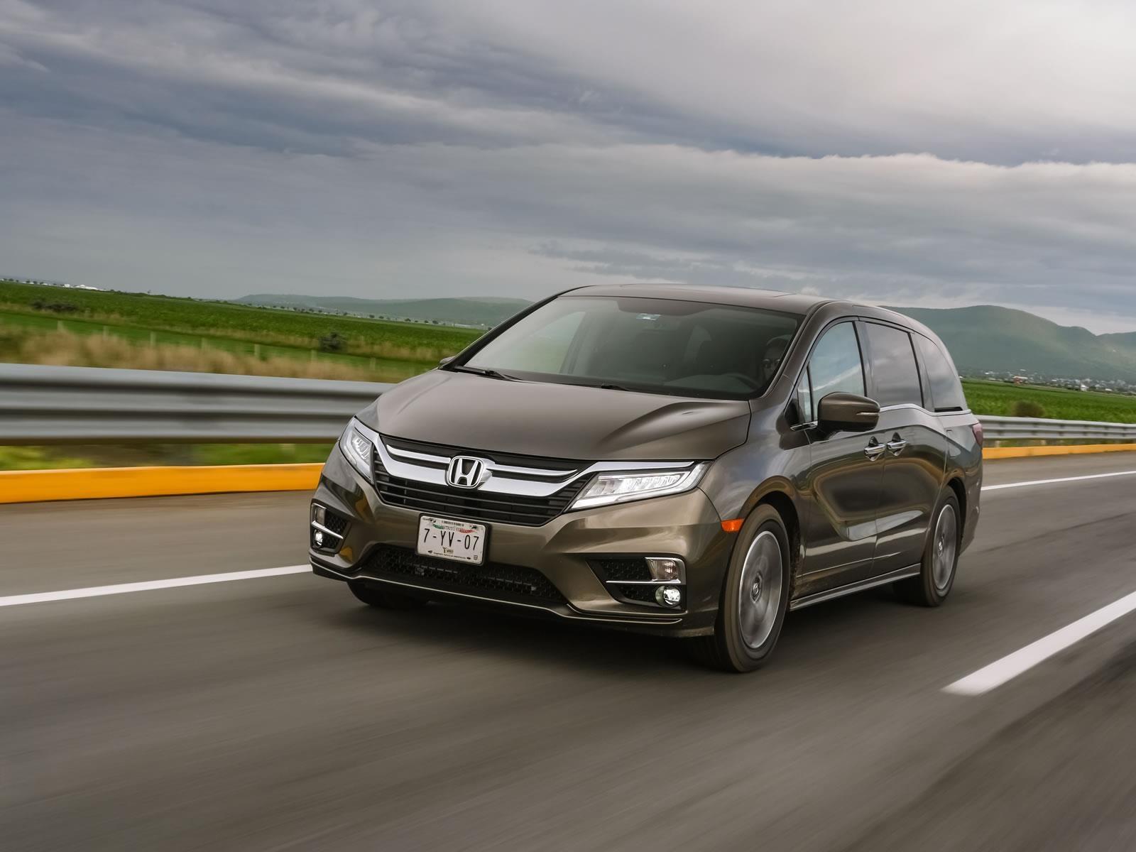 Honda Odyssey 2018 a prueba