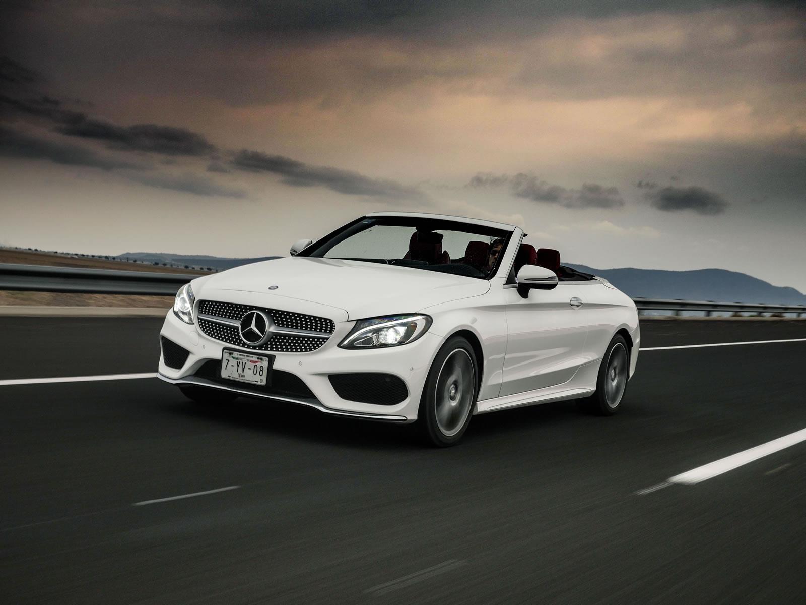 Manejamos el Mercedes-Benz C250 Cabriolet 2017