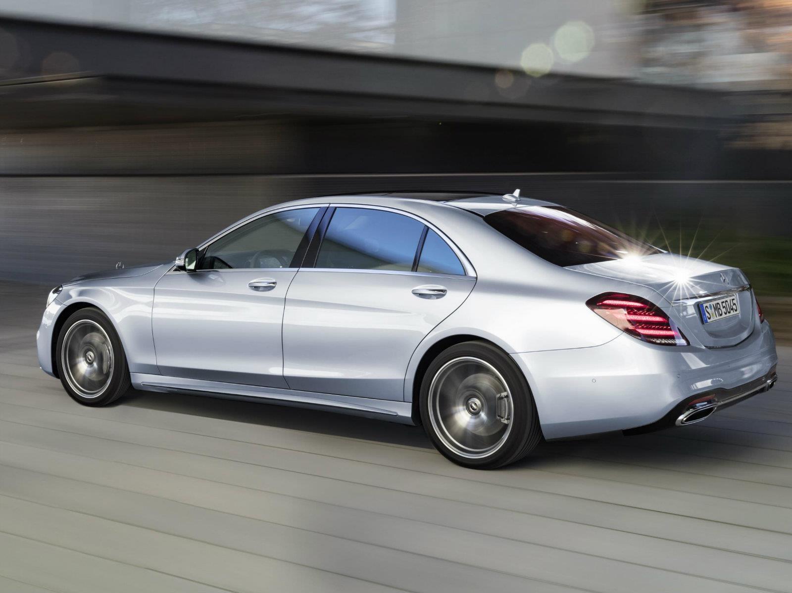 Mercedes-Benz Clase S 2018 se presenta