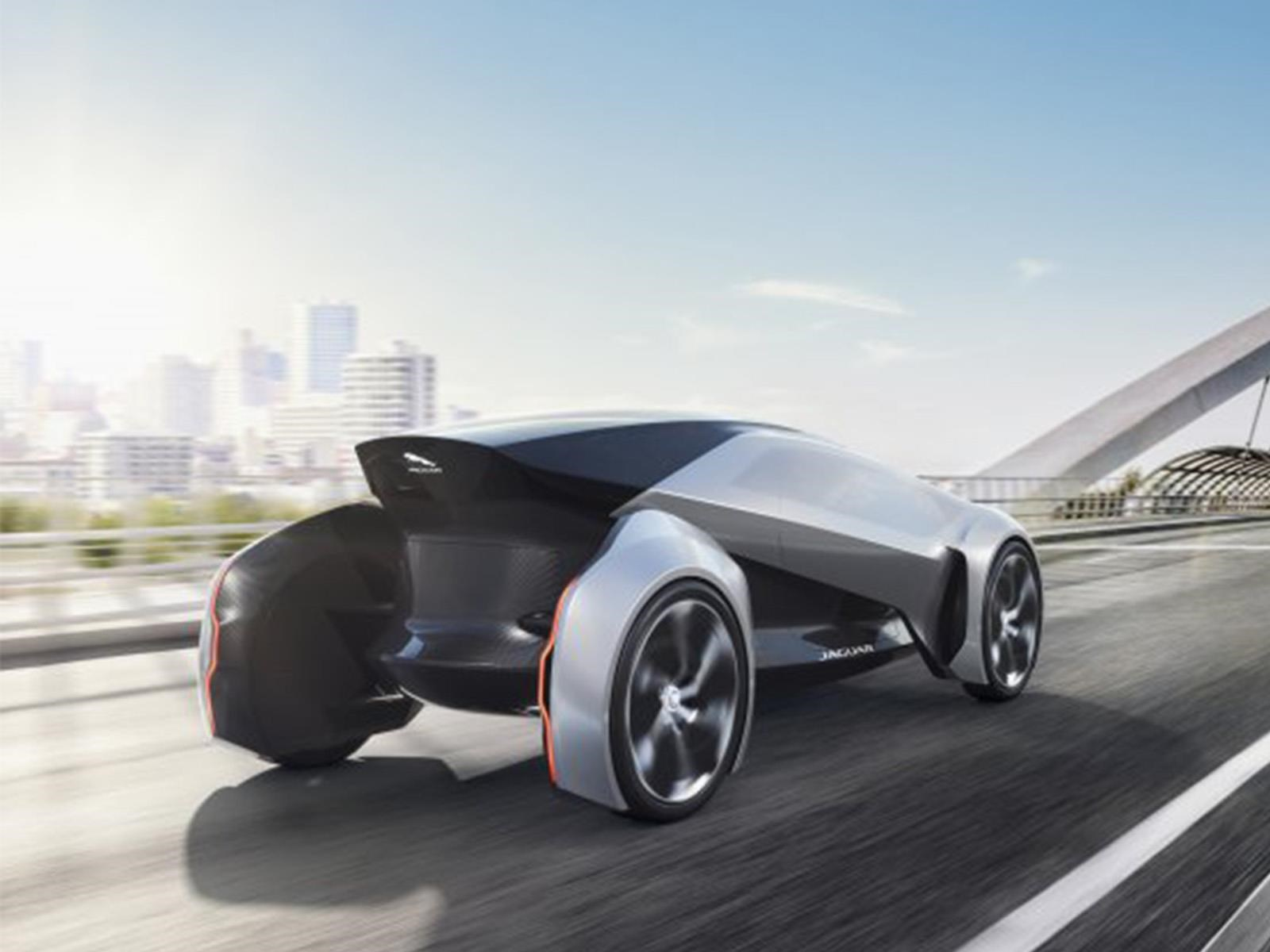 Jaguar Future-Type Concept, prototipo británico Sci-Fi