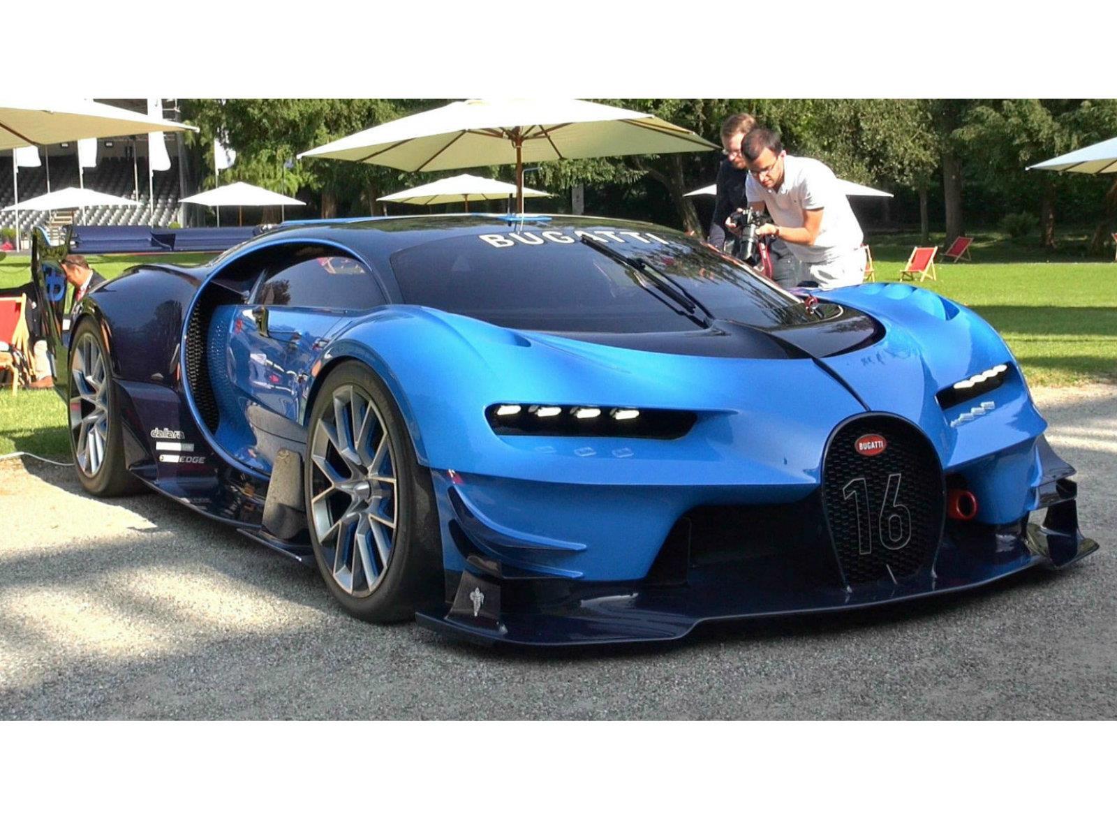 Video: sentí el ruigido del Bugatti Vision Gran Turismo