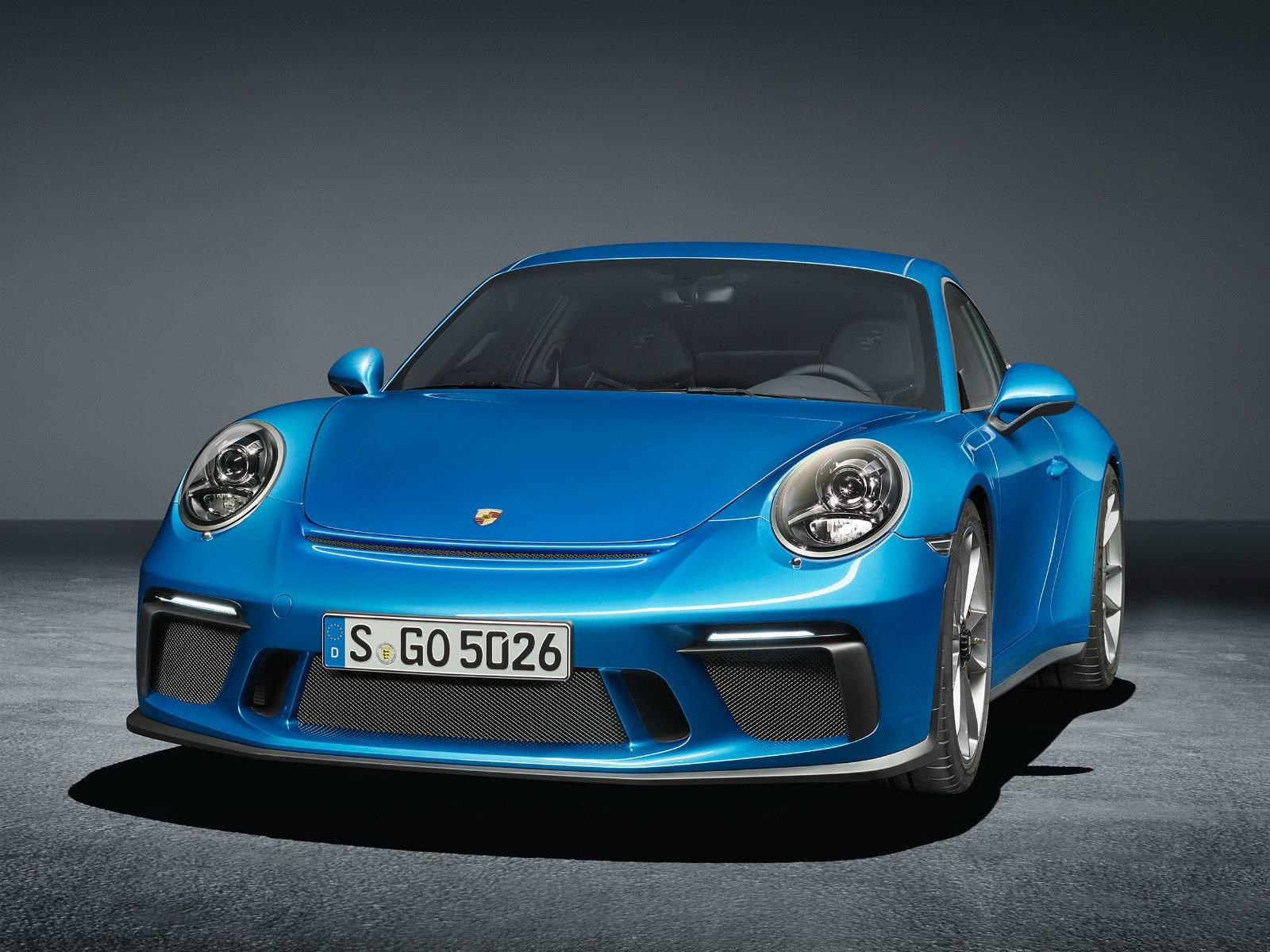 Porsche 911 GT3 Touring Package debuta