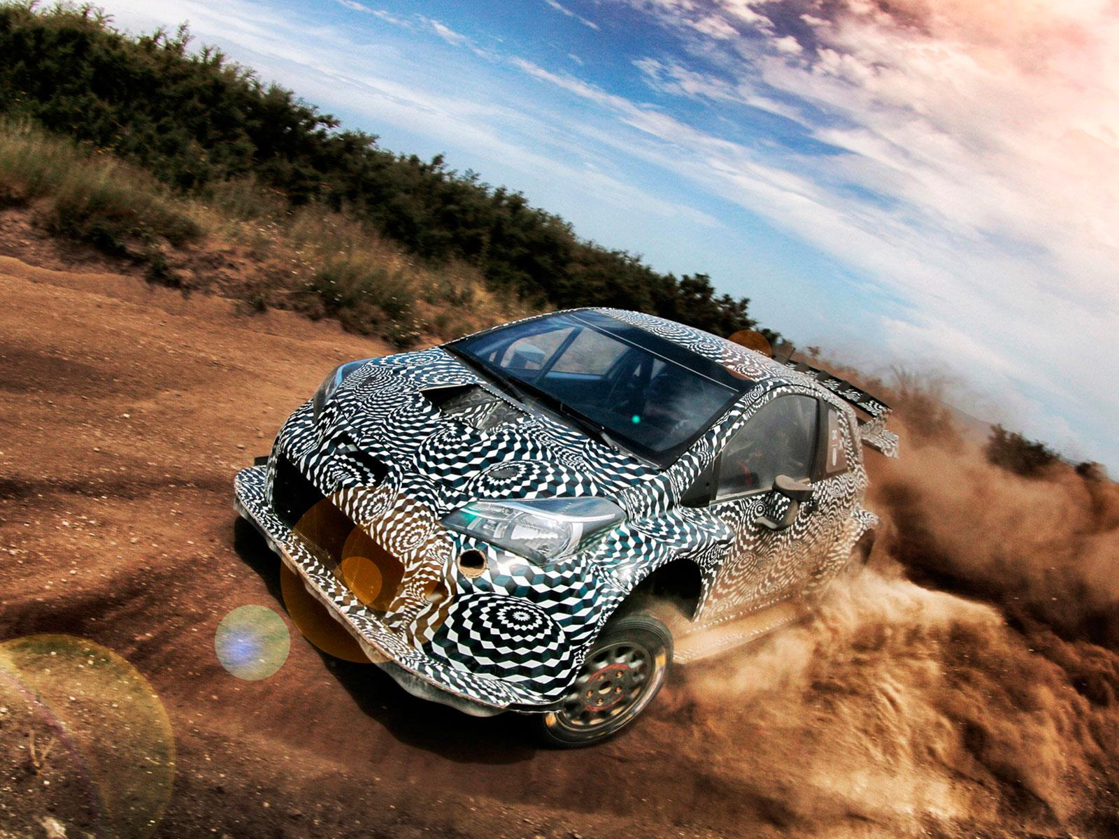 Toyota ultima los detalles del Yaris WRC 2017