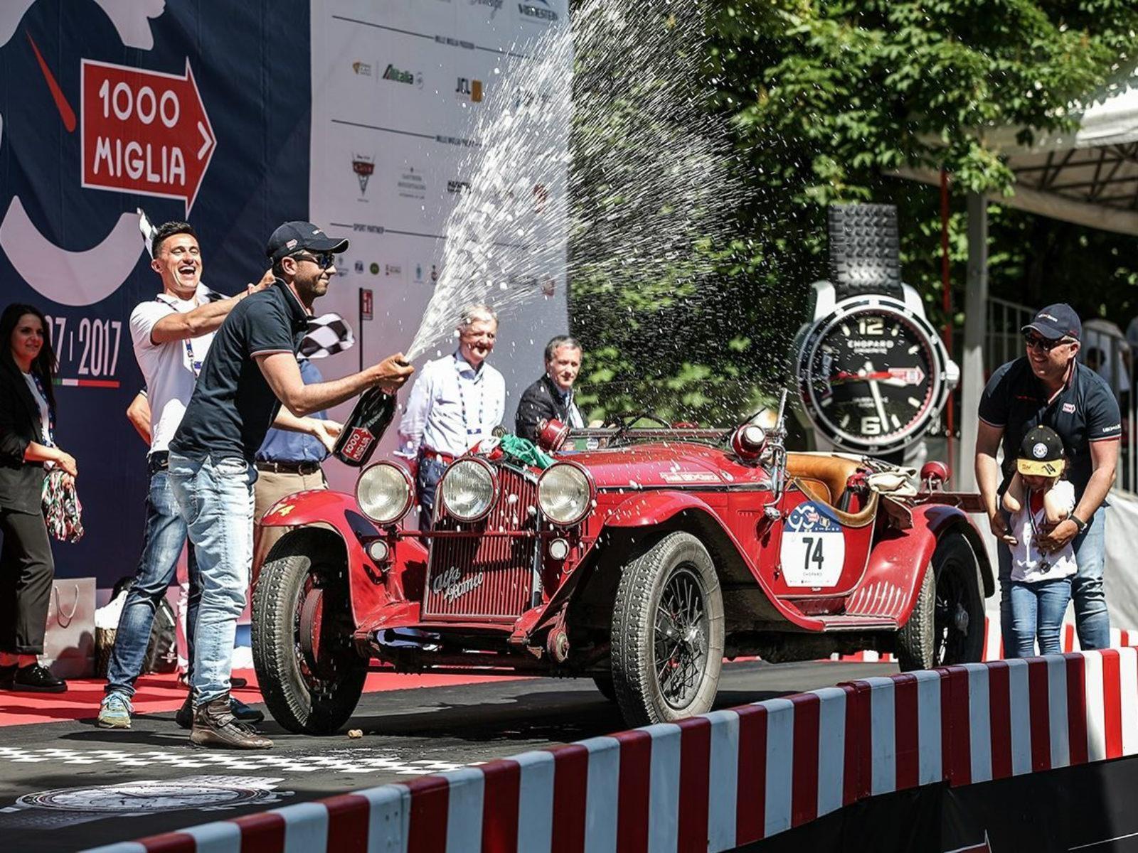 Triunfo para Alfa Romeo en la Mille Miglia de este año