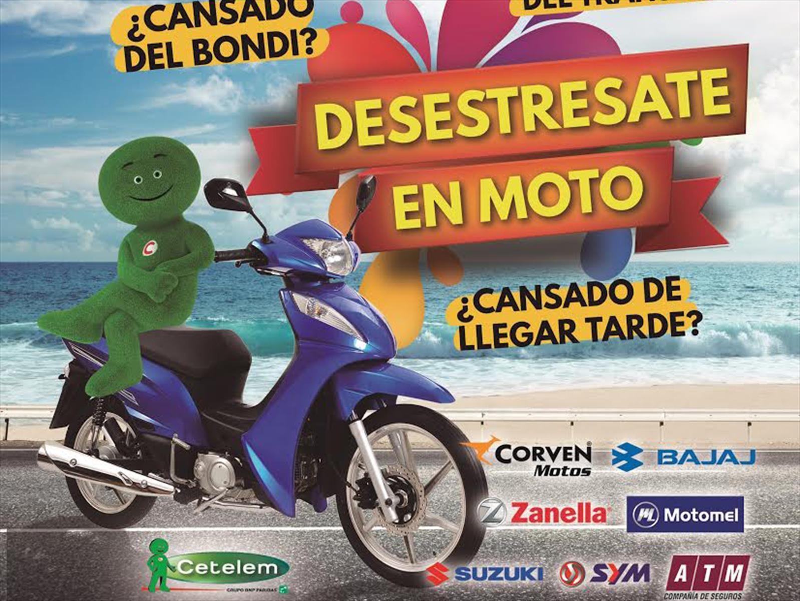 Cetelem lanza un plan de cuotas para comprar una moto