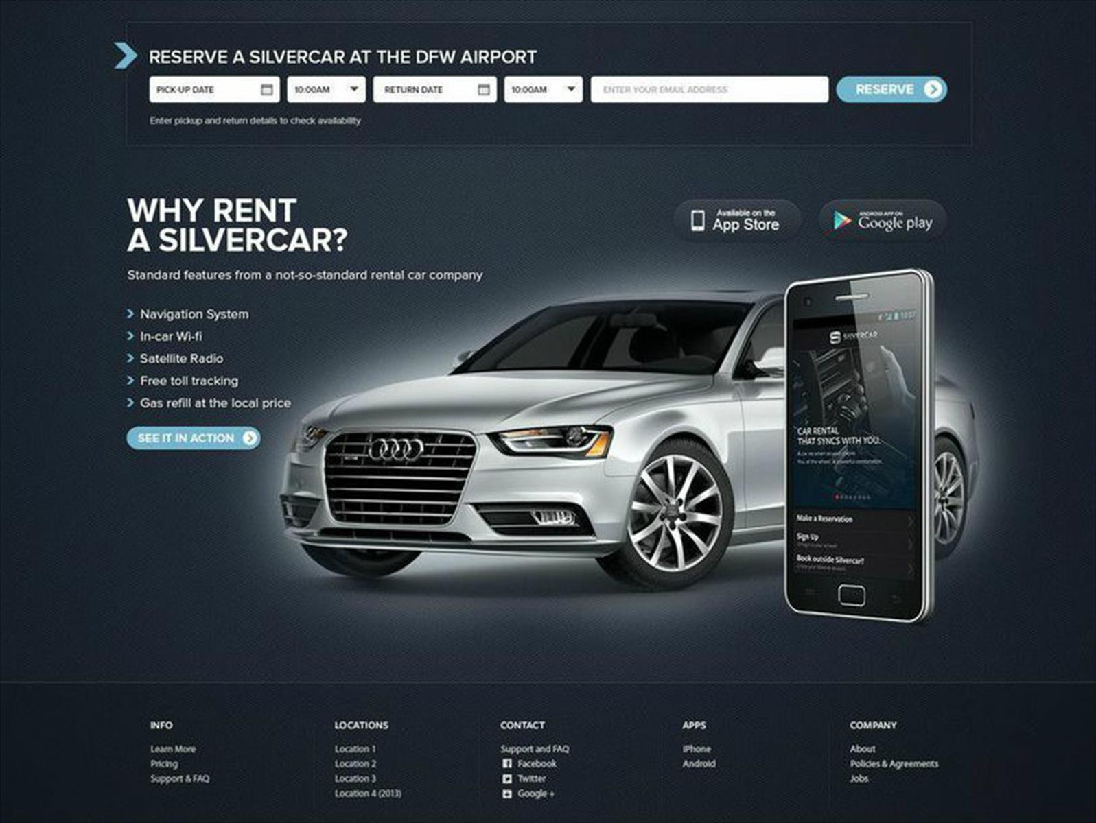 Audi compra la startup de renta de carros llamada Silvercar