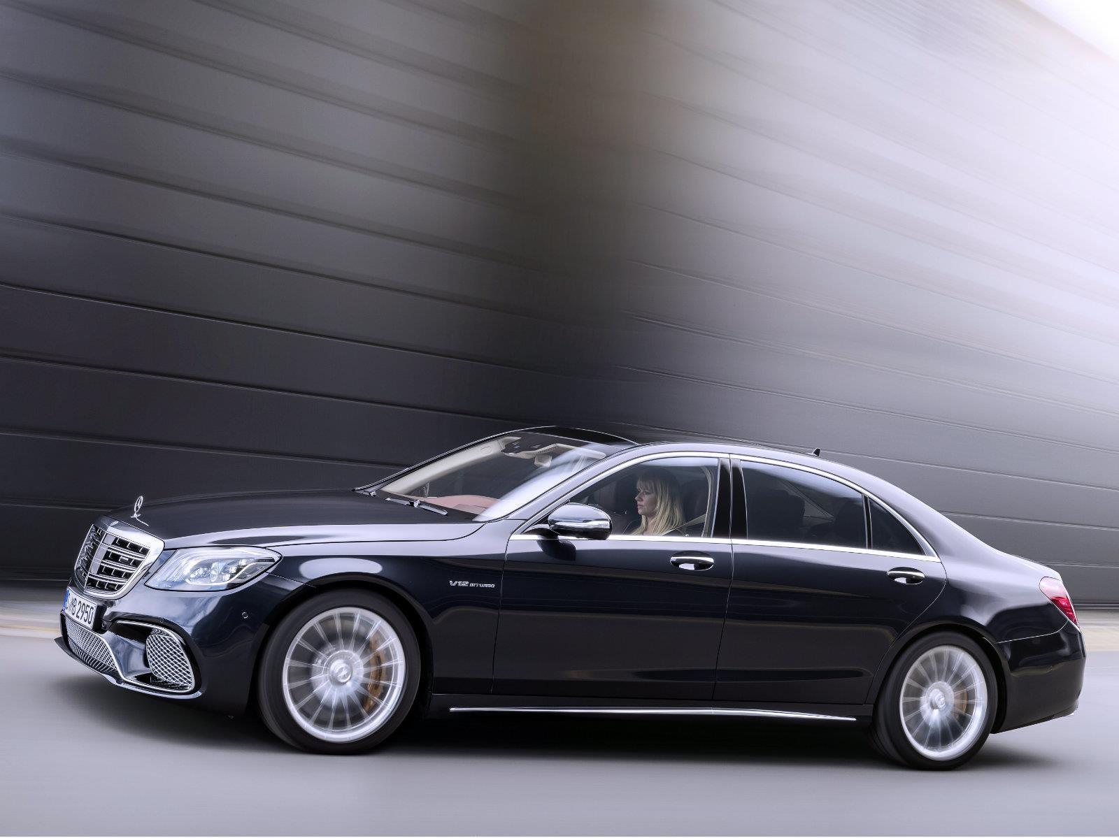 La Clase S de Mercedes-Benz se ofrece en 24 versiones