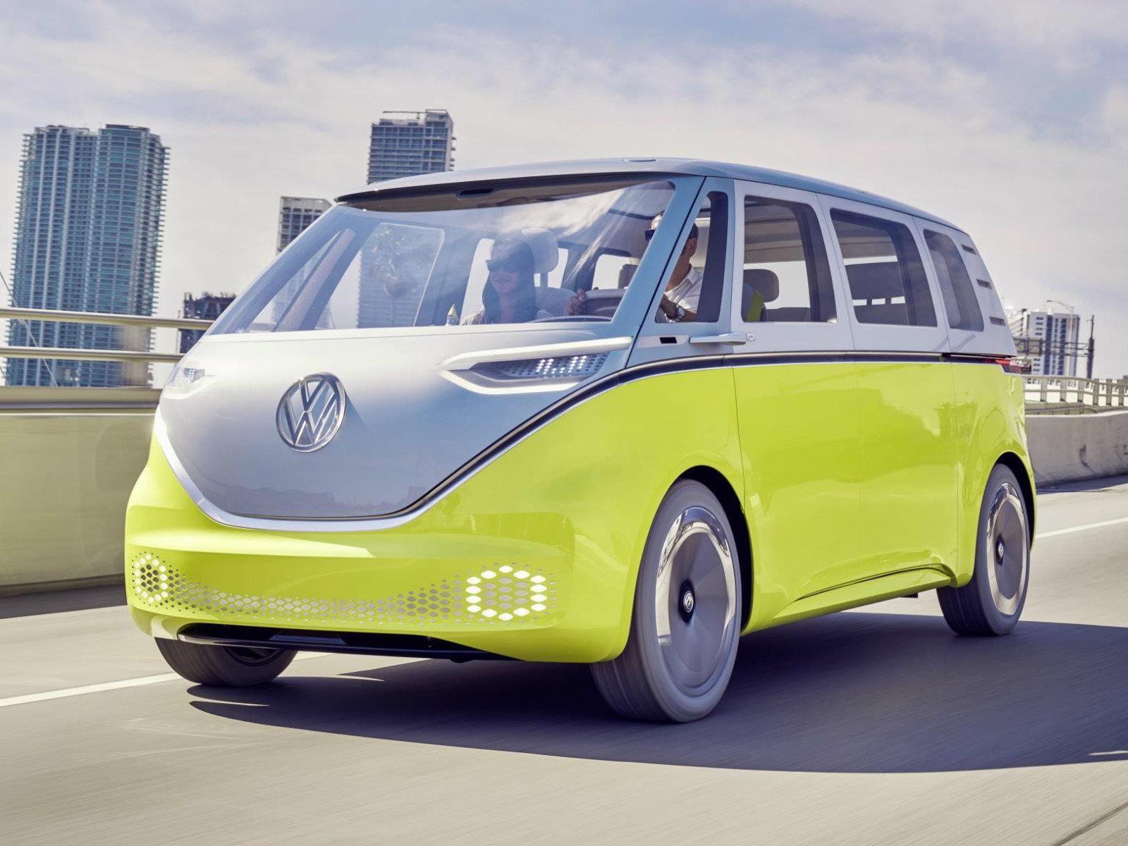 Volkswagen ID Buzz es la mejor camioneta conceptual de 2017