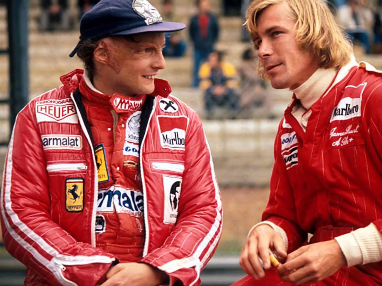 1976 es la temporada de Lauda contra Hunt en la Fórmula 1