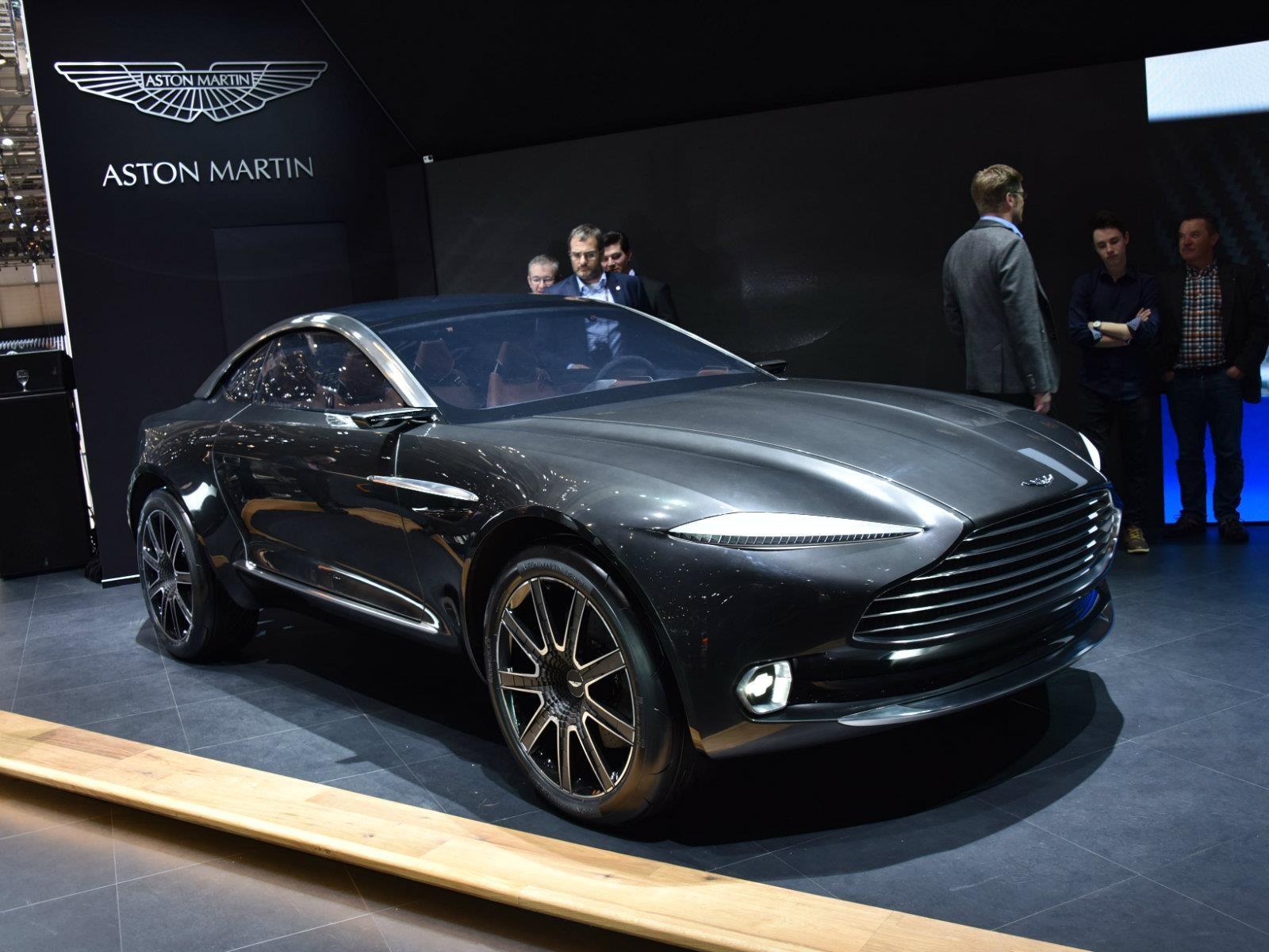 Aston Martin tiene todo listo para construir su primera SUV