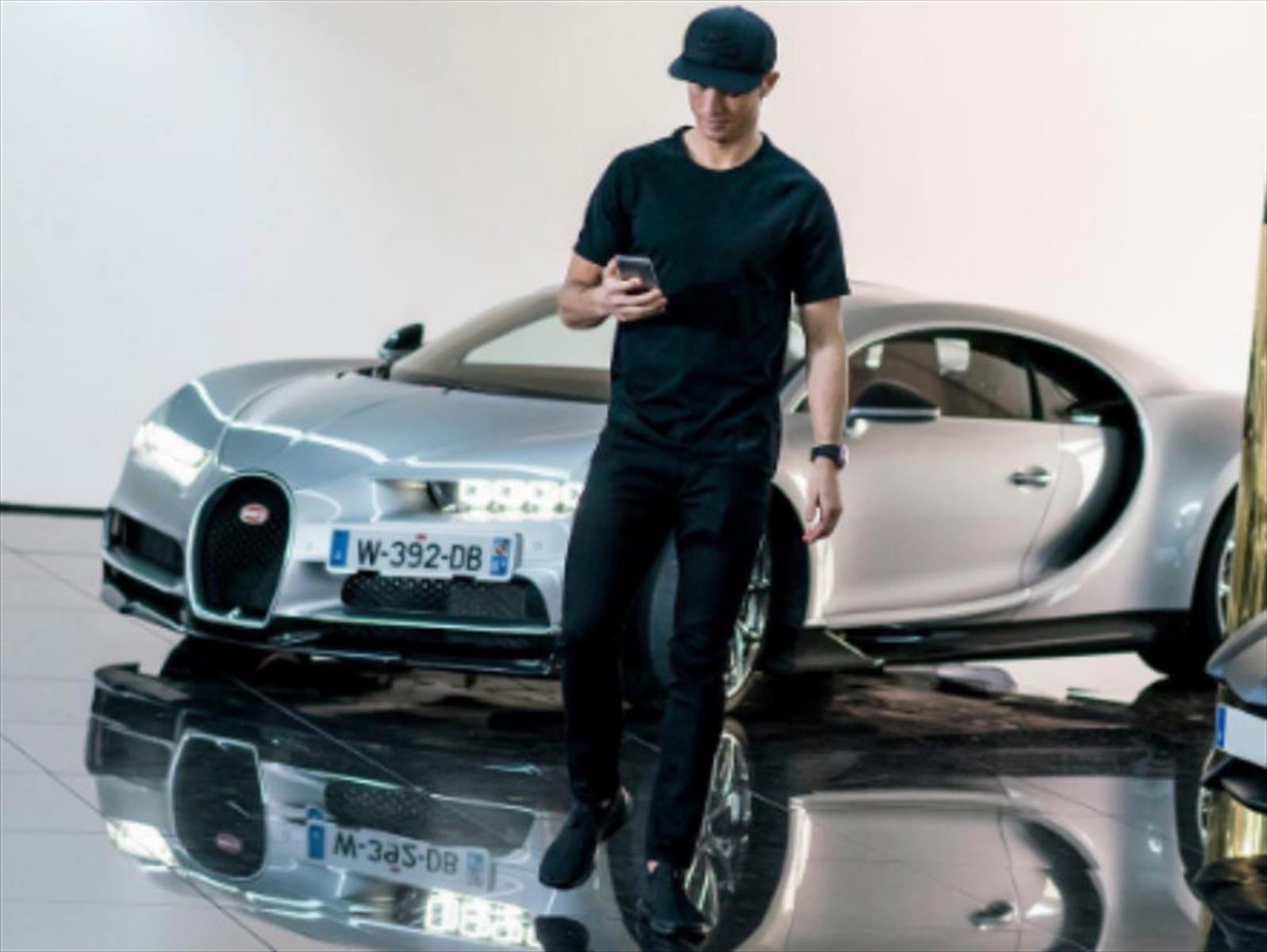 Nueva joya: Cristiano Ronaldo compra un Bugatti Chiron