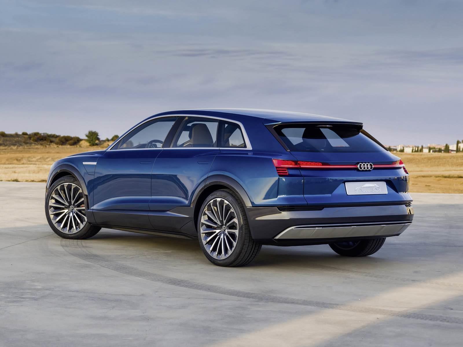 Audi lanzará tres modelos eléctricos para 2020