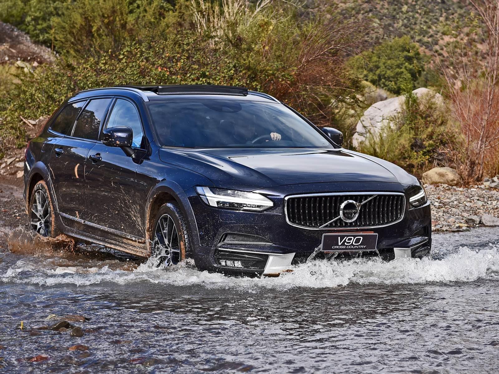 Test drive: Volvo V90 Cross Country