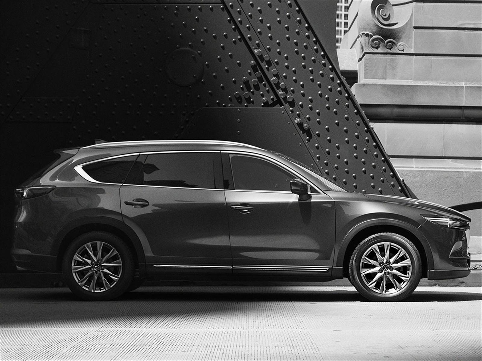 Mazda CX-8 revela sus primeras imágenes oficiales