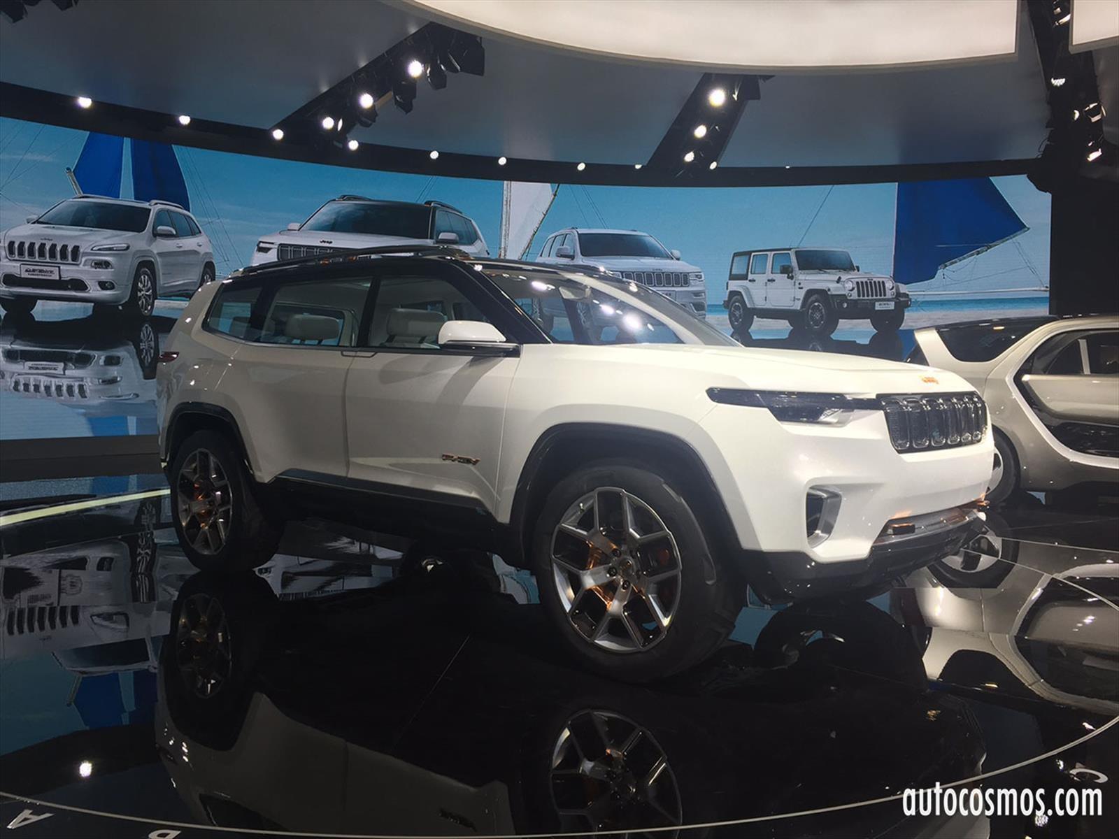 Jeep Yuntu, exclusivo SUV chino para 6 ocupantes