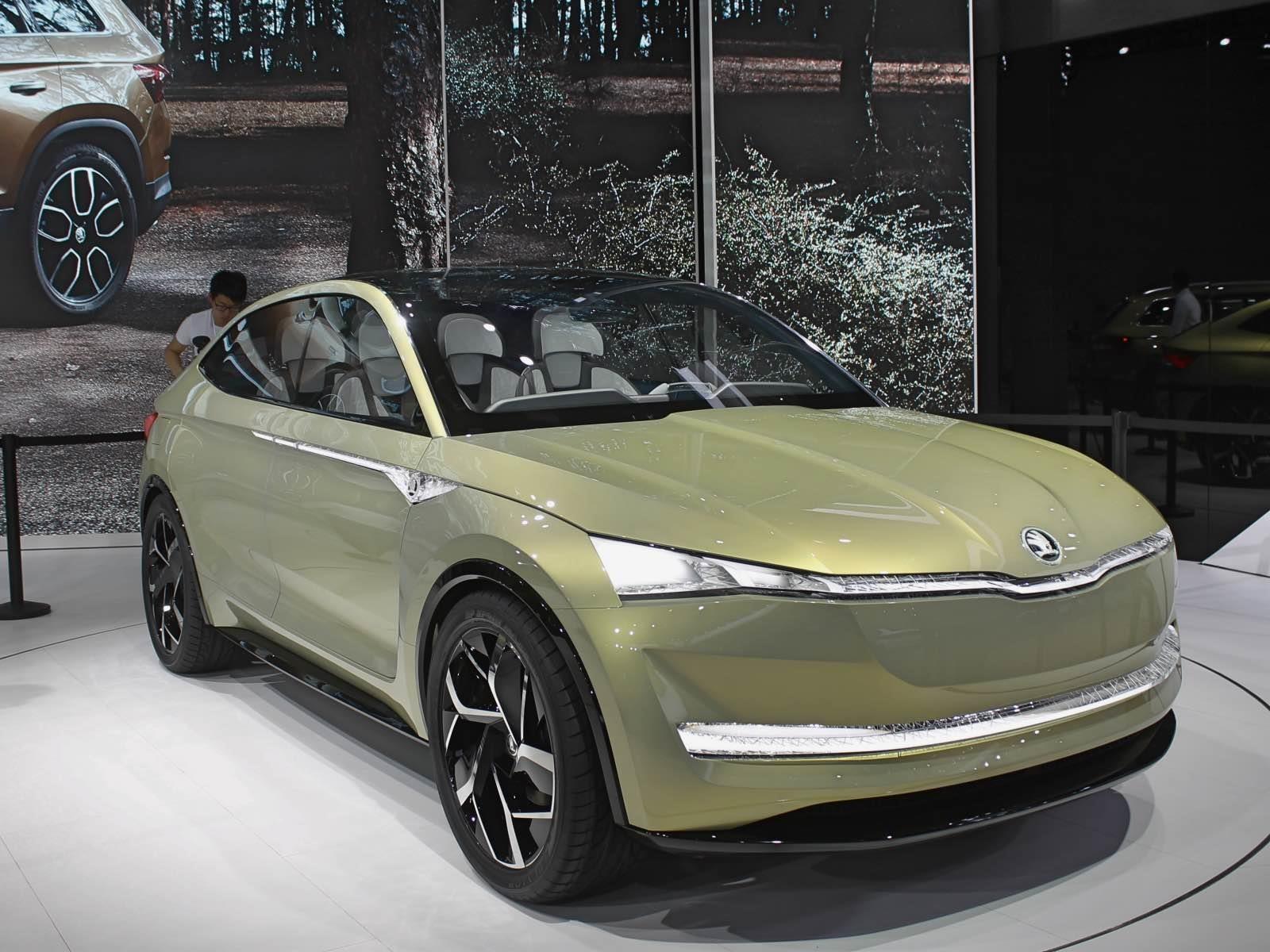 Shanghai 2017: Skoda presenta su primer concept 100% eléctrico