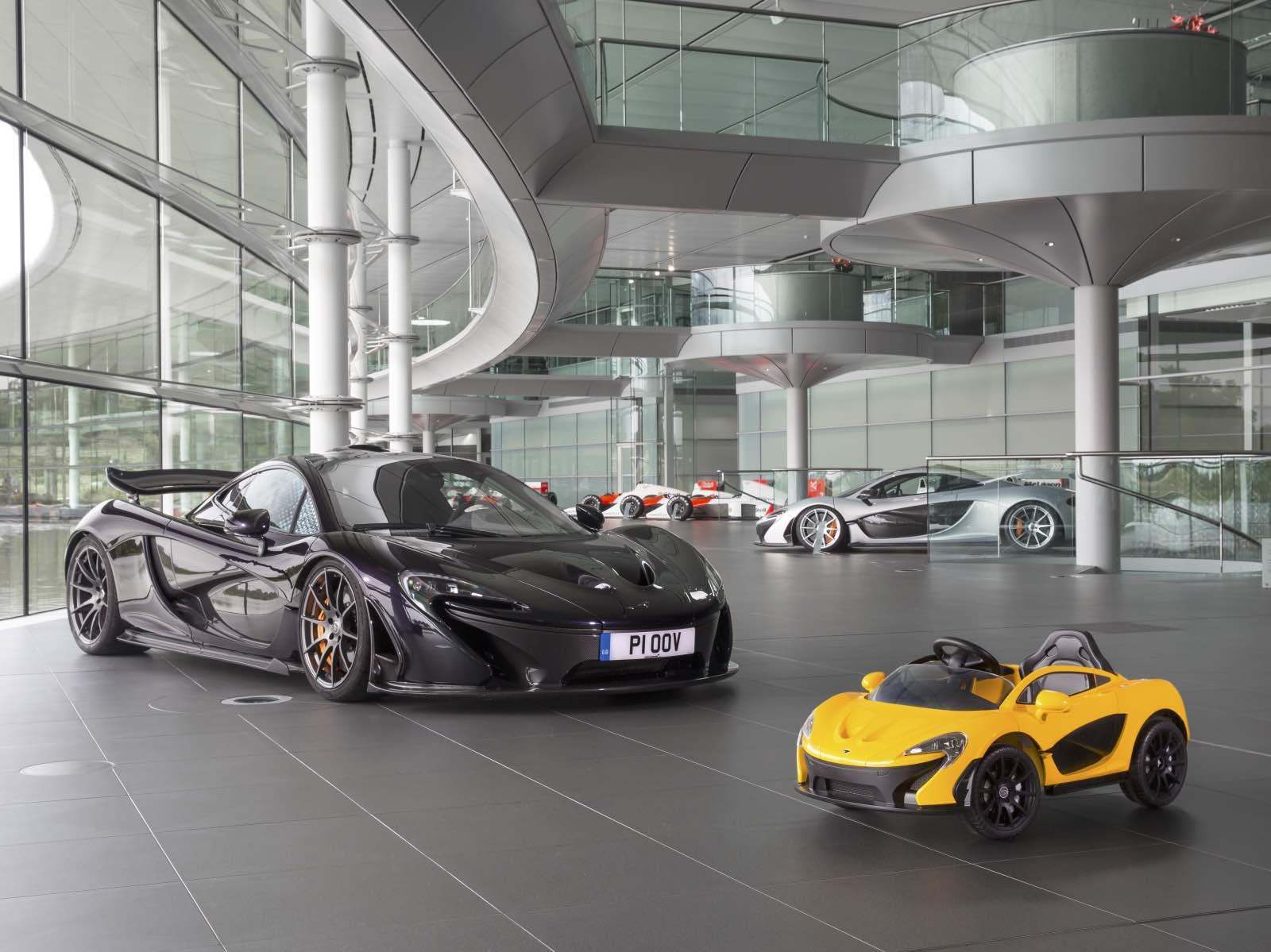 Este McLaren sí se lo comprarías a tu hijo