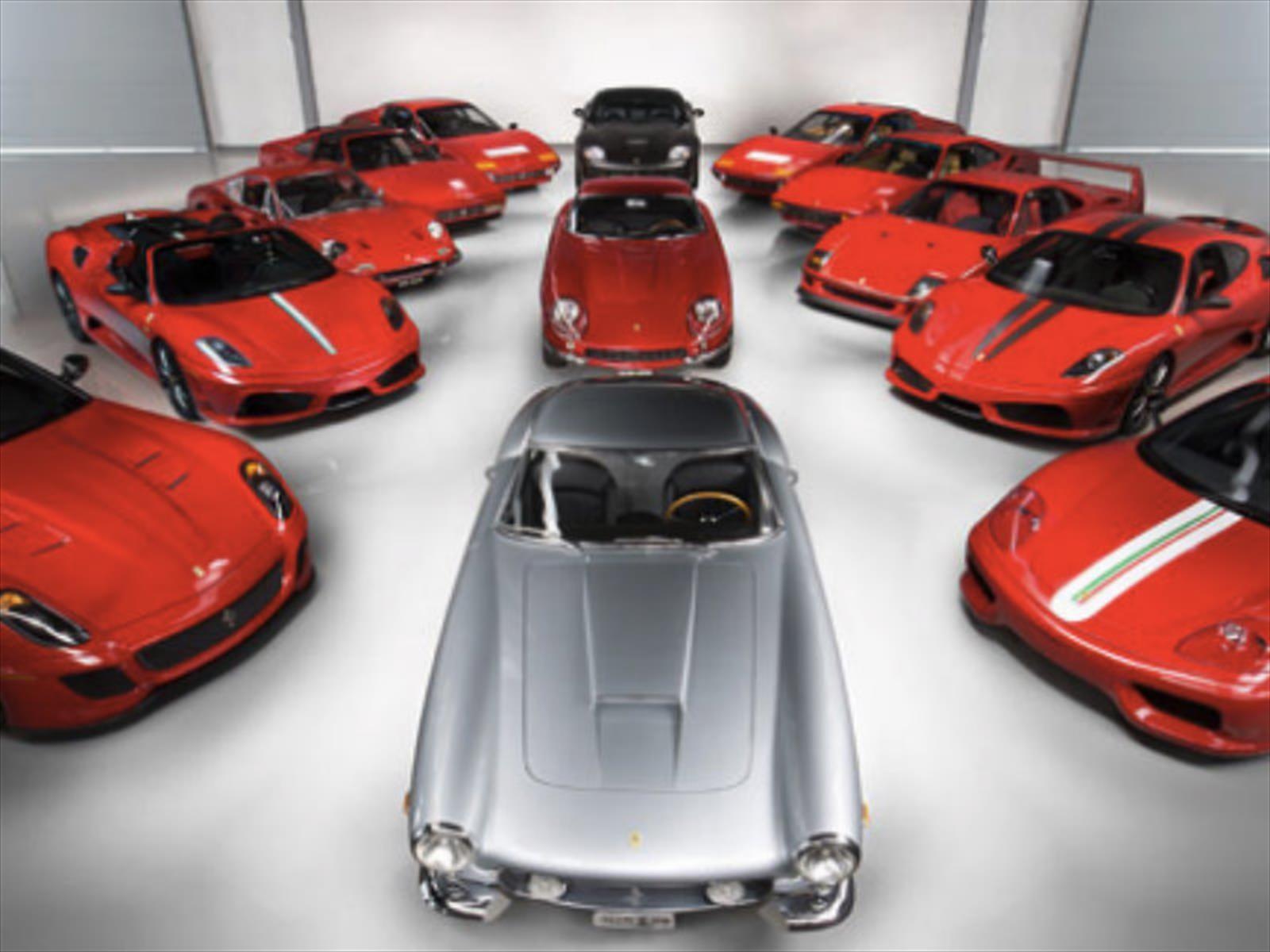 Ferrari Performance Collection fue subastada en más de $16 millones de dólares