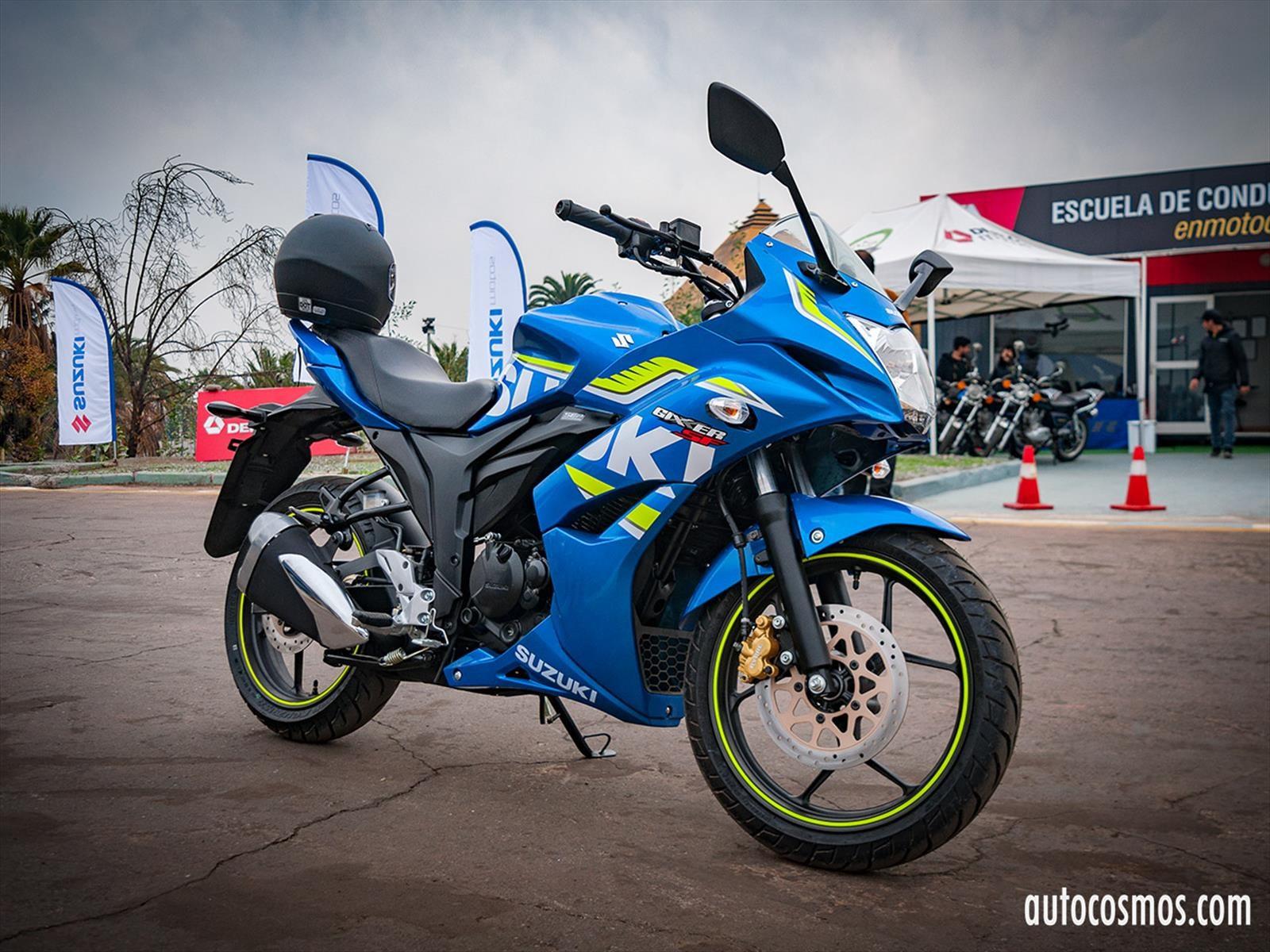 Suzuki Gixxer 2017, ahora con frenos de disco e inyección electrónica por $1.699.900