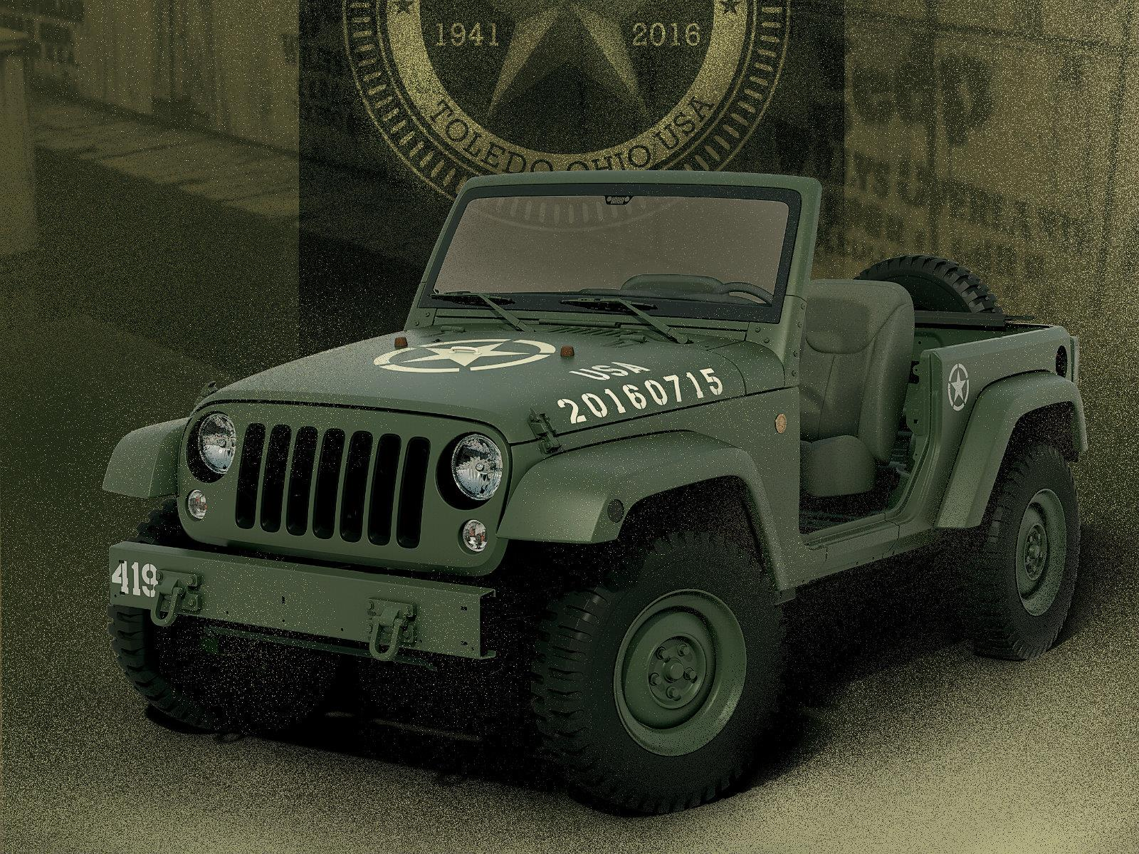 Jeep Wrangler 75th Salute, el Willys MB de la era moderna