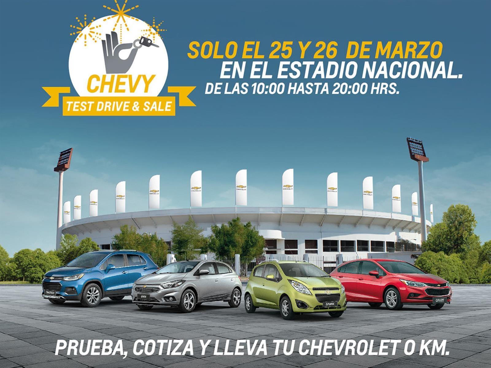 Chevrolet anuncia venta especial de modelos en el Estadio Nacional por este fin de semana