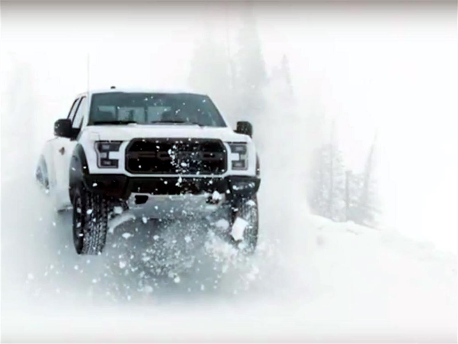 Video: Ken Block y una Ford F-150 Raptor en la nieve