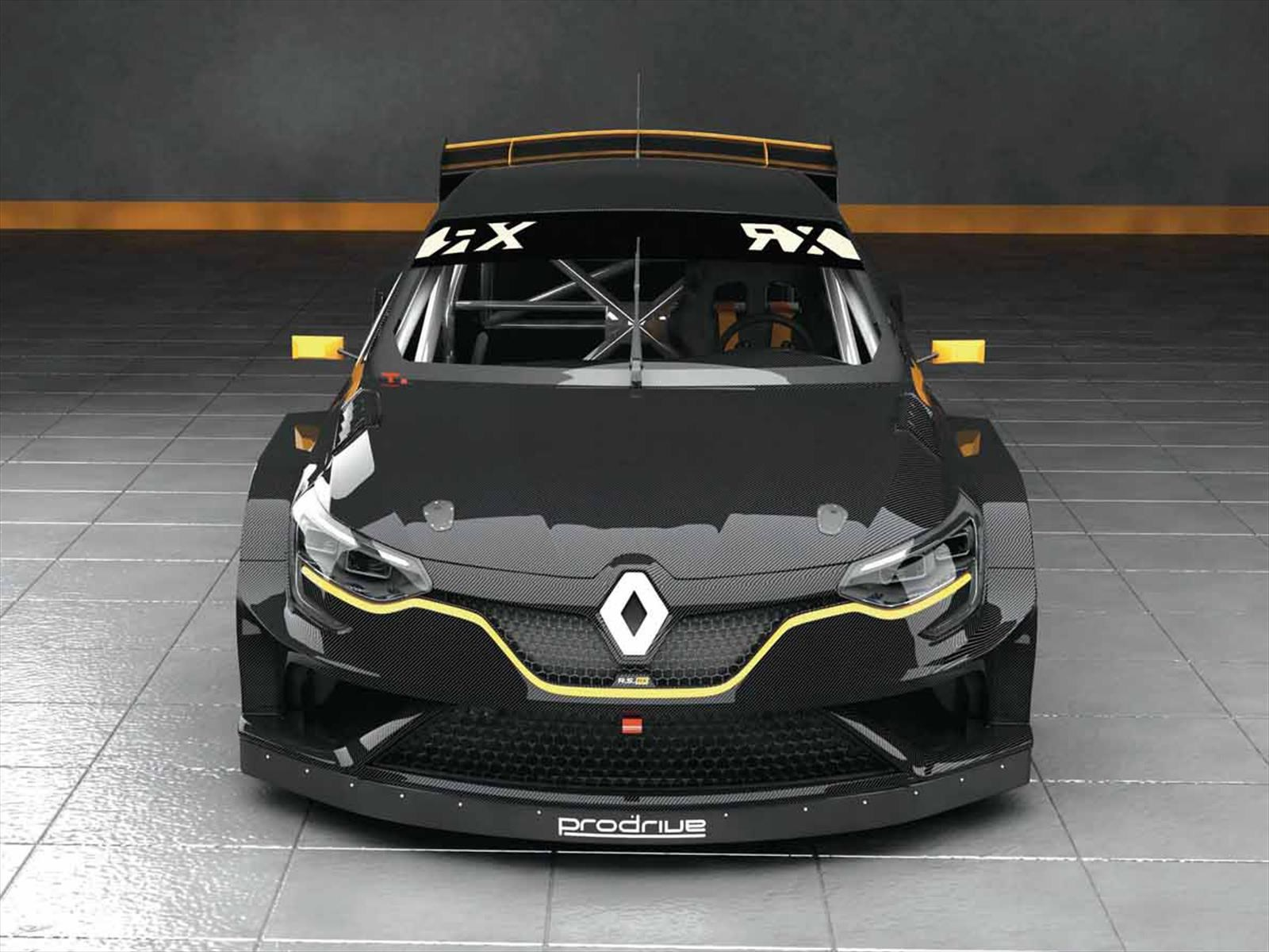 Prodrive presenta un Renault Megane RS para el Rally Cross