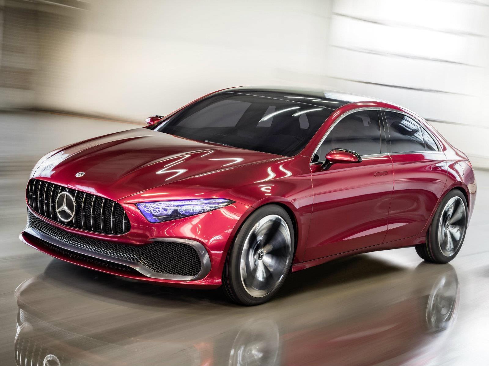 Mercedes-Benz Concept A Sedan debuta