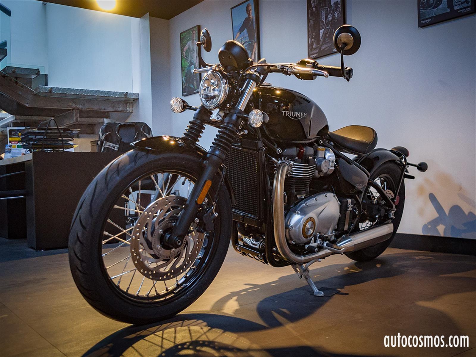 Triumph lanza en Chile trilogía de motocicletas clásicas