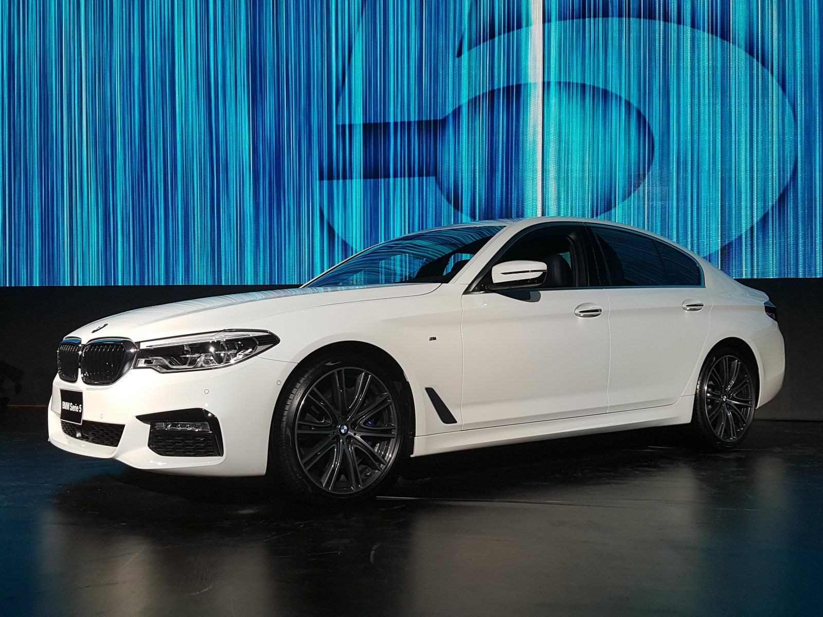 BMW Serie 5 2018 se presenta