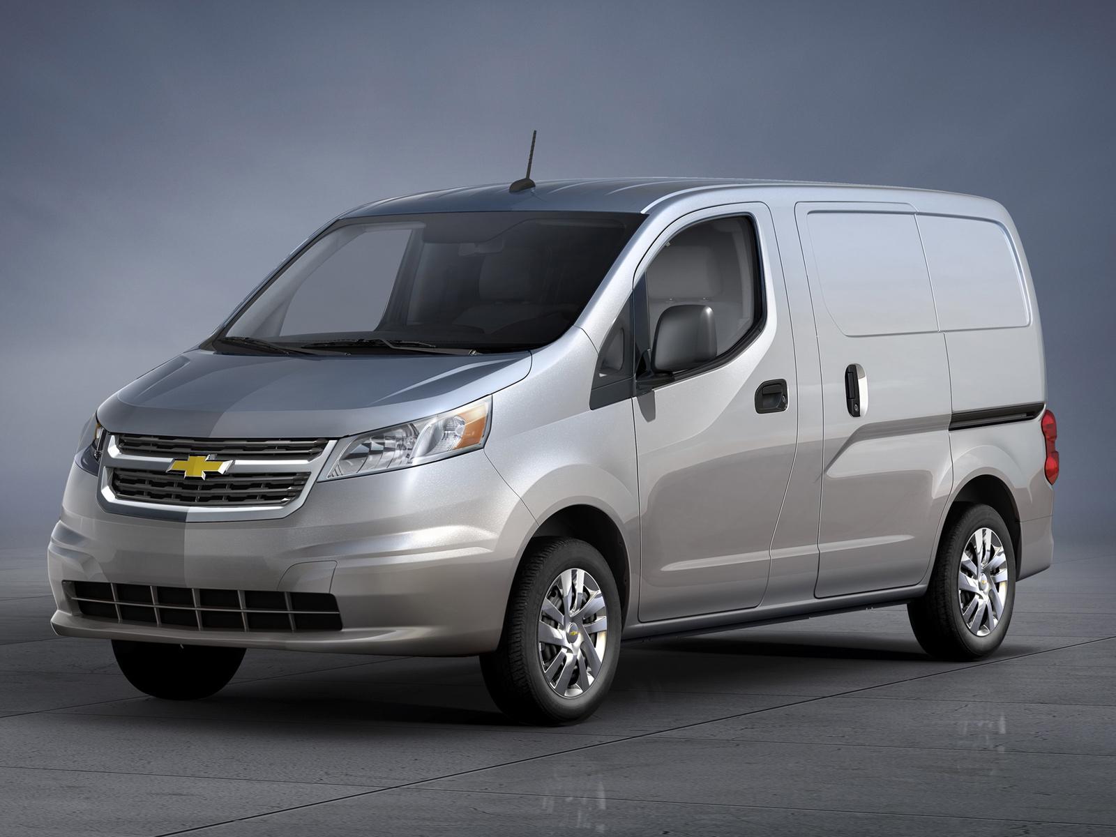 Chevrolet City Express, se presenta el hermano del Nissan NV200