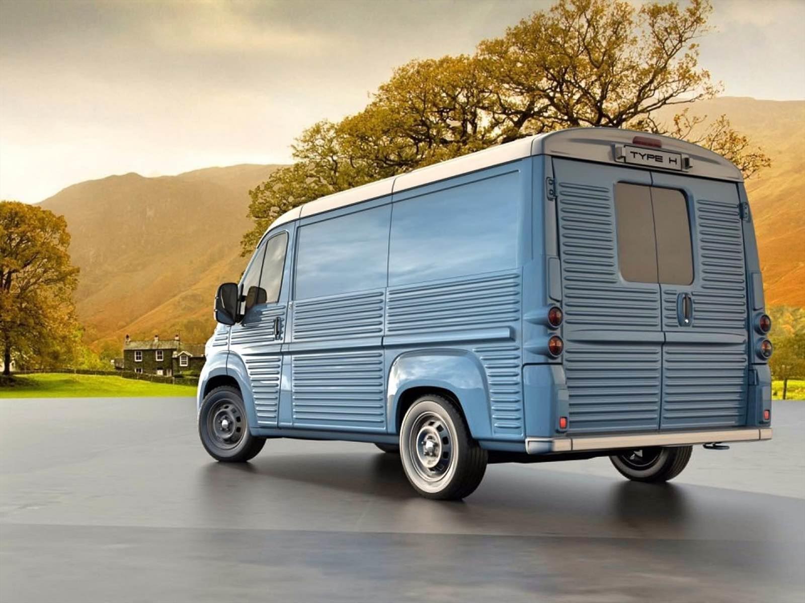 70 años no son nada: vuelve el Citroën Serie H